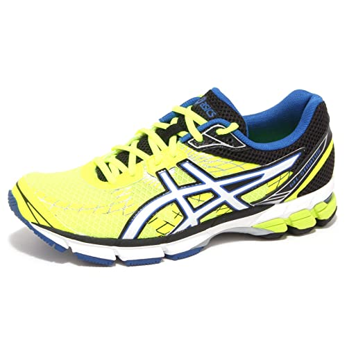 6729O sneaker uomo ASICS GEL STRATUS giallo/blu/bianco shoe men