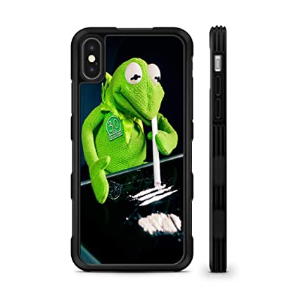 Amazon.com: 407Case - Carcasa de goma TPU para móvil Kermit ...