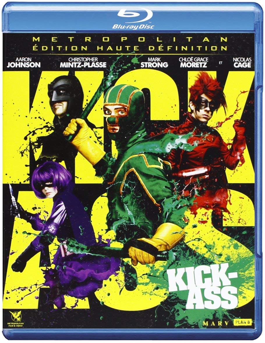 Kick-Ass [Francia] [Blu-ray]: Amazon.es: Aaron Johnson ...