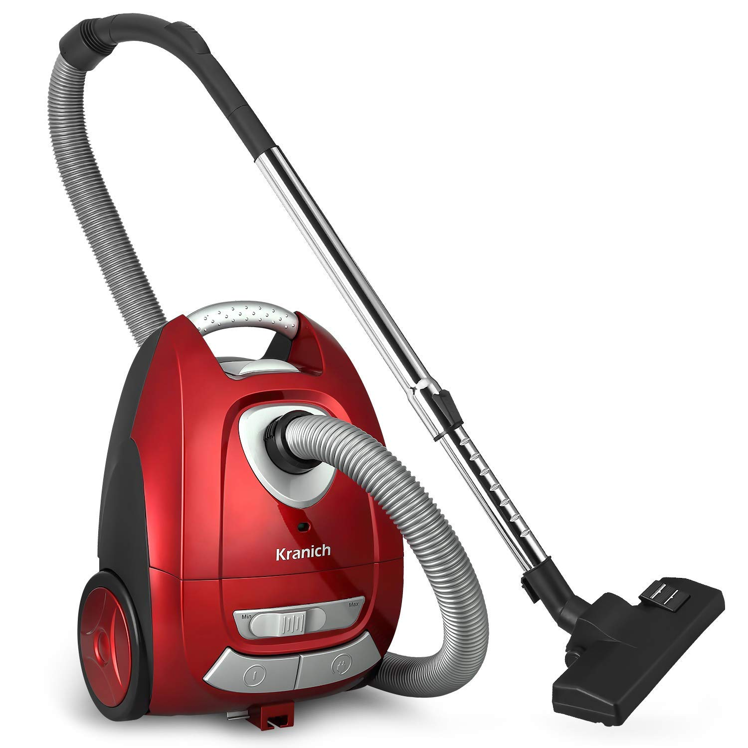 Kranich Cylinder Canister Vacuum Cleaner Corded Suction 1000W Combination Rug and Floor Tool
