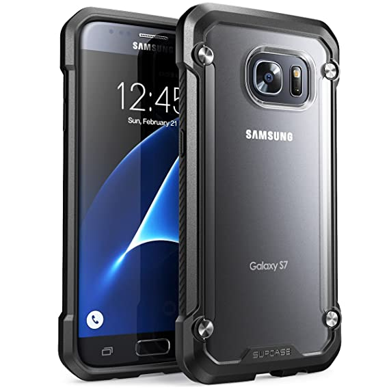 check out d74ab 6b1b4 Galaxy S7 Case, SUPCASE Unicorn Beetle Series Premium Hybrid Protective  Clear Case for Samsung Galaxy S7 2016 Release, Retail Package (Frost/Black)