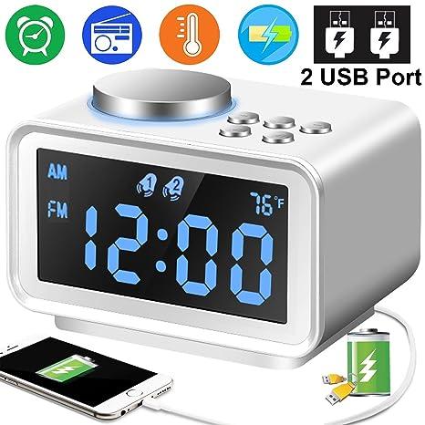 Digital Alarm Clock Radio - 3.5