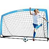 BAYINBULAK Soccer Goal Portable Soccer Net for Kids Backyard Training 6.6'x3.3', 1 Pack