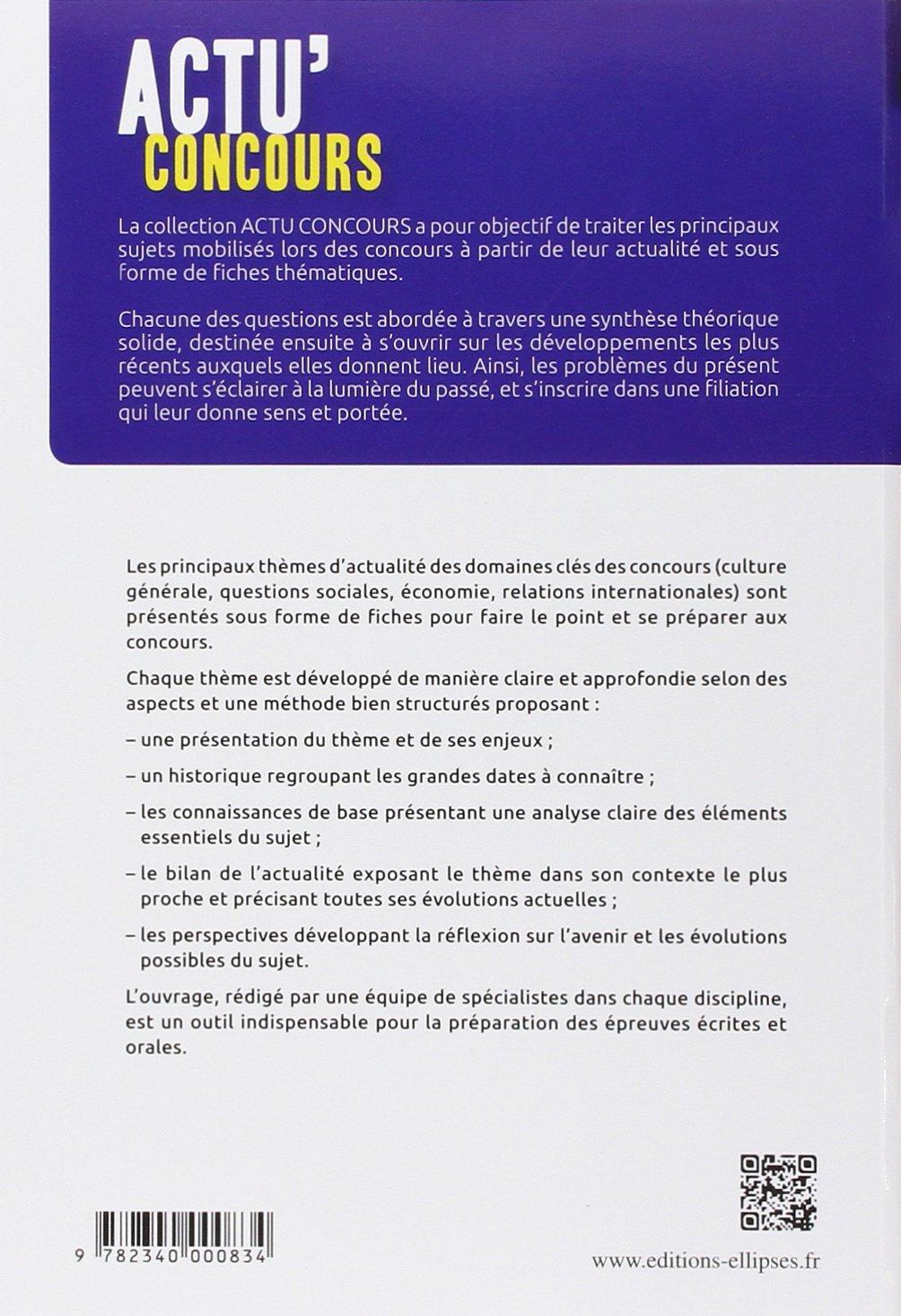 Thèmes essentiels dactualité (Actu Concours): Amazon.es: Philippe Solal, Pierre-Jean Dessertine, Eddy Fougier, Collectif, Jean-Philippe Cavaillé: Libros ...
