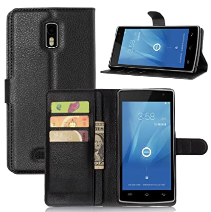 Amazon.com: Doogee DG580 Case,Manyip PU Leather Stand Wallet ...