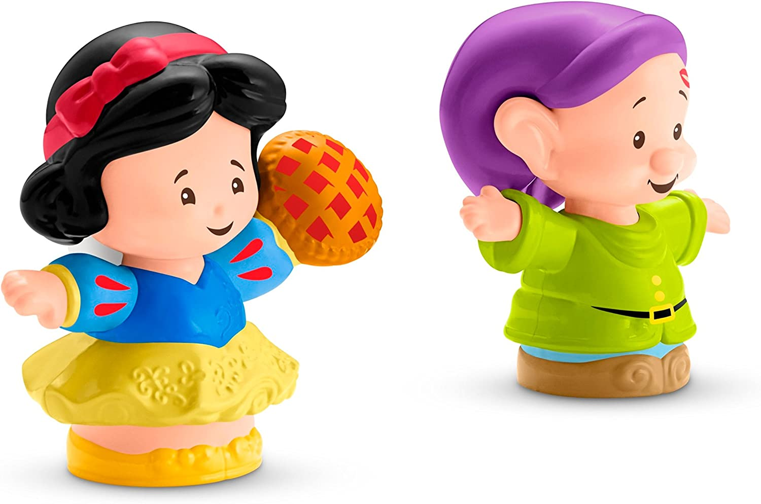 Fisher-Price Little People Disney Princess, Snow White & Dopey Figures