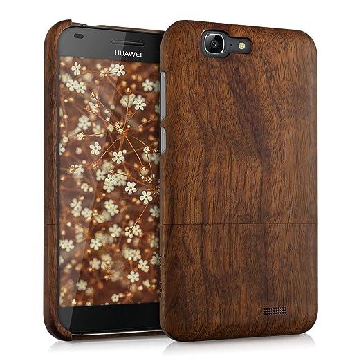 21 opinioni per kwmobile Custodia in legno per Huawei Ascend G7 Cover legno naturale legno di