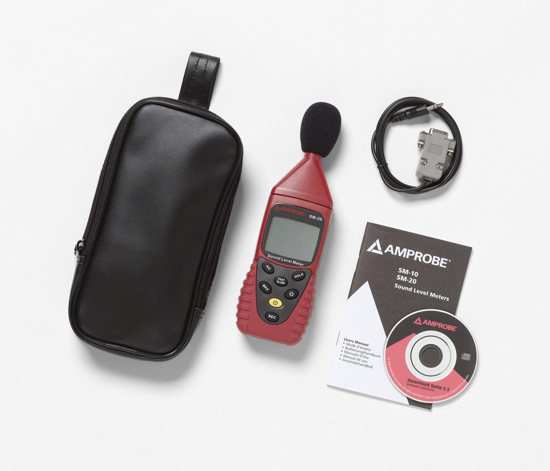 Amprobe SM-20 A Medidor de sonido: Amazon.es: Industria, empresas y ciencia