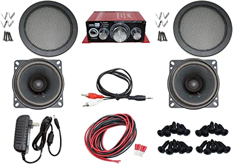 Pleasing Amazon Com Audio Kit For Arcade Game Mame Cabinet Or Virtual Wiring 101 Ariotwise Assnl