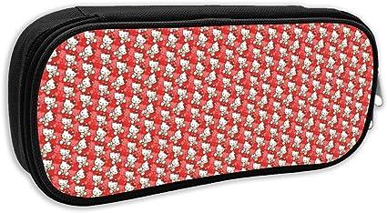 Hello Kitty - Estuche para lápices de gran capacidad, con cremallera duradera y para almacenamiento de suministros escolares y de oficina: Amazon.es: Oficina y papelería