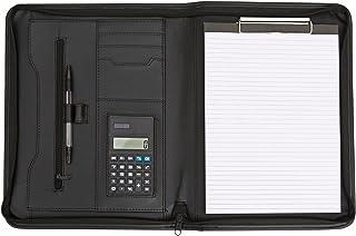Konferenzmappe aus Kunstleder - Organizerbereich - Größe DIN A4 - Ohne Ringmechanik