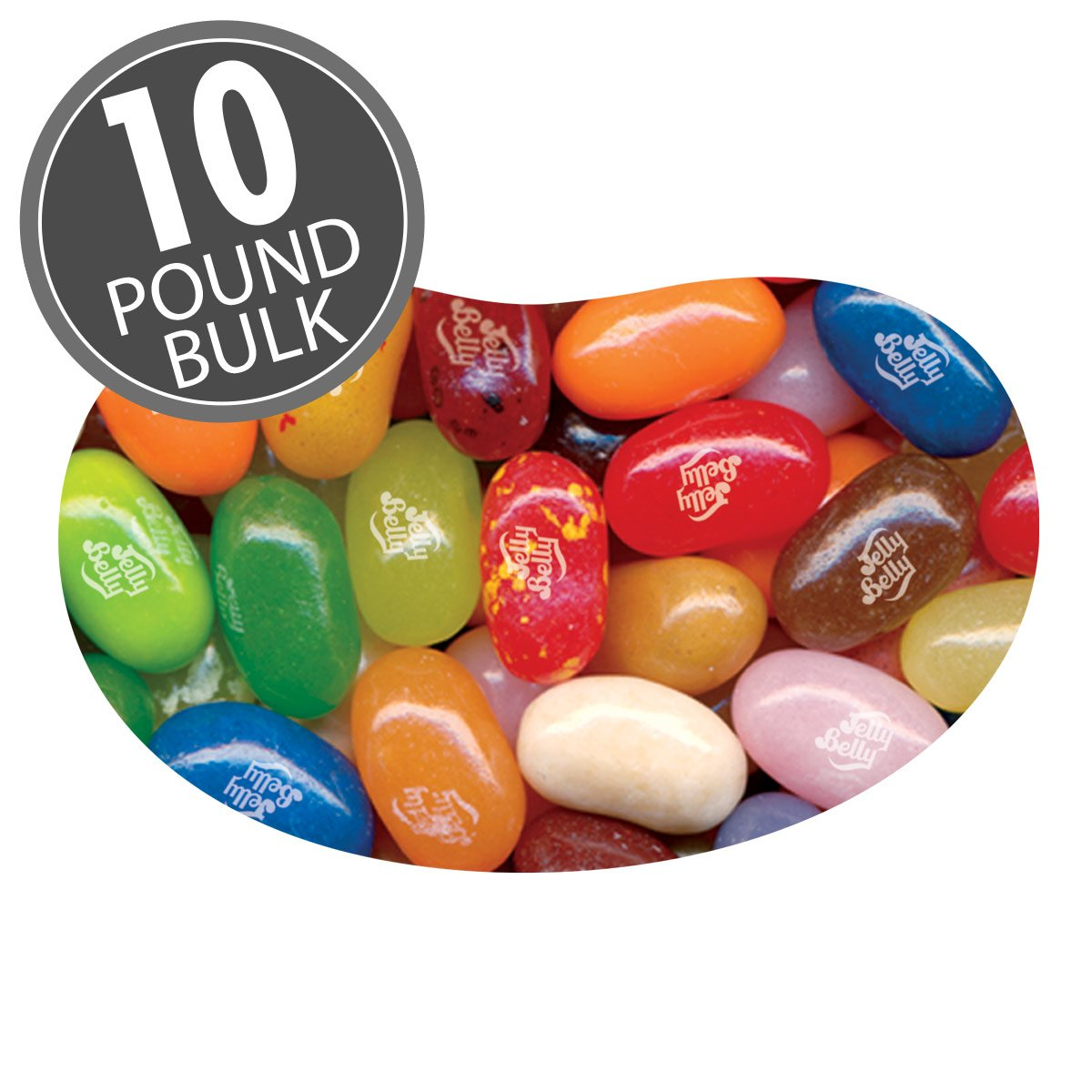 Jelly Belly 49 Assorted Jelly Bean Flavors - 10 lbs bulk - Genuine, Official, Straight from the Source by Jelly Belly