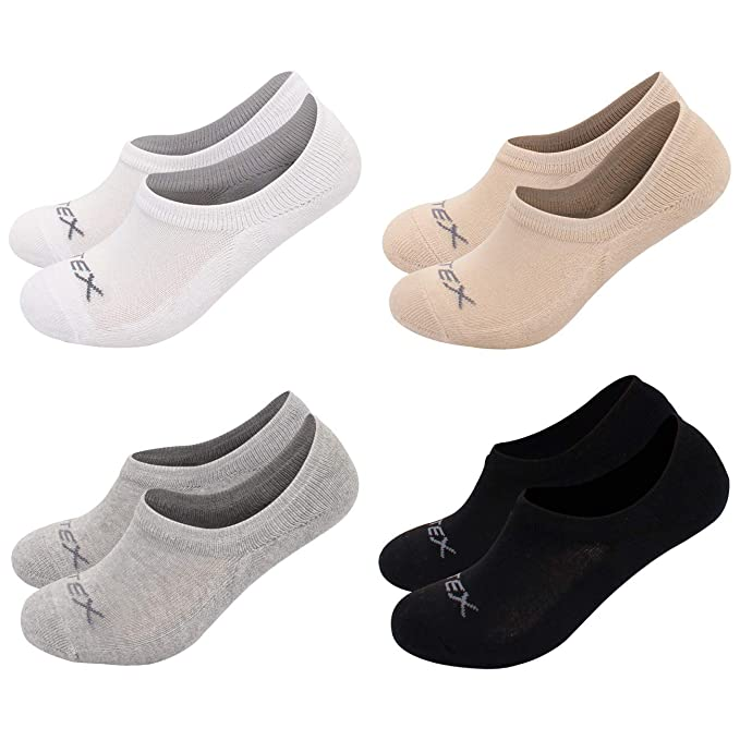 Amazon.com: Fittreme 3 a 5 unidades de calcetines para mujer ...
