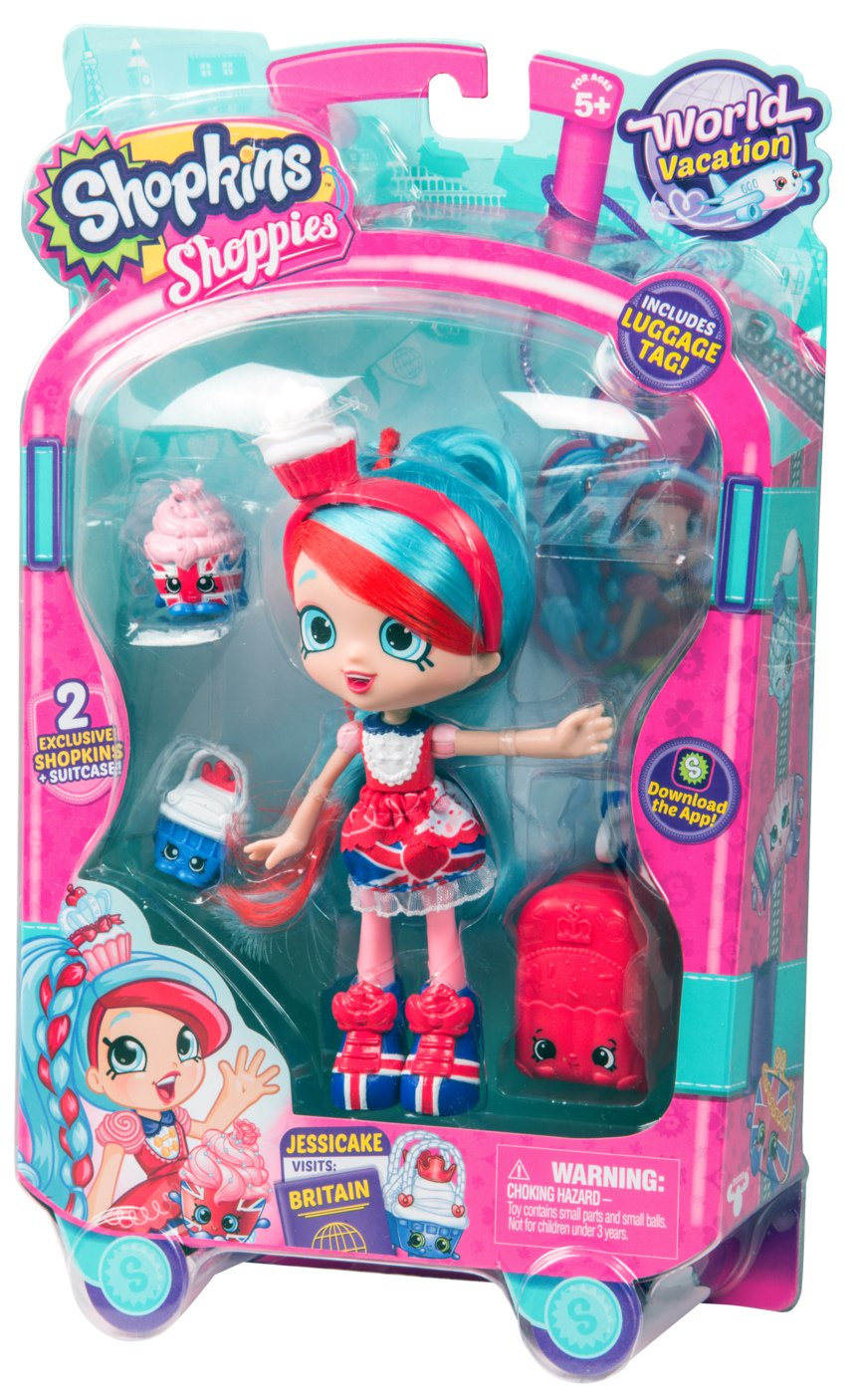 Shopkins World Vacation (Europe) Shoppies Doll - Jessicake: Amazon ...