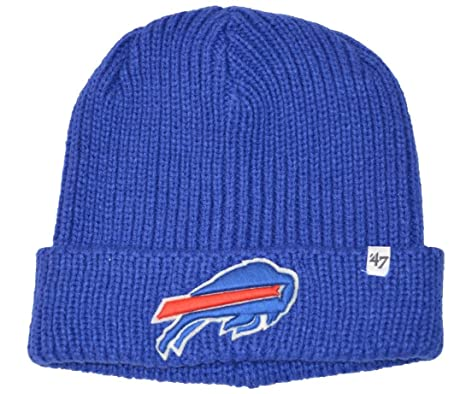 b540a11fc02 Image Unavailable. Image not available for. Color  NFL Buffalo Bills  Amesbury Cuff Beanie Knit Hat Sonic Blue