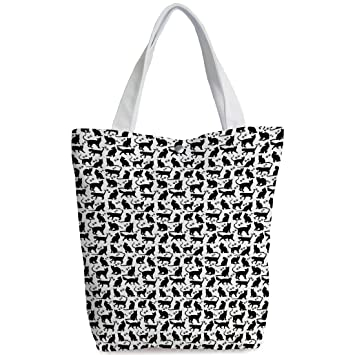 367296a68386 Amazon.com  Canvas Shopping bag