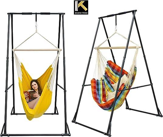 Amazon Com Kt Indoor Outdoor Multi Purpose Hammock Chair Stand