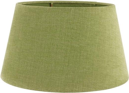 Baroque Collection - Pantalla para lámpara (25 cm, tela, 14,5 x 25 x 25 cm), color verde claro: Amazon.es: Iluminación