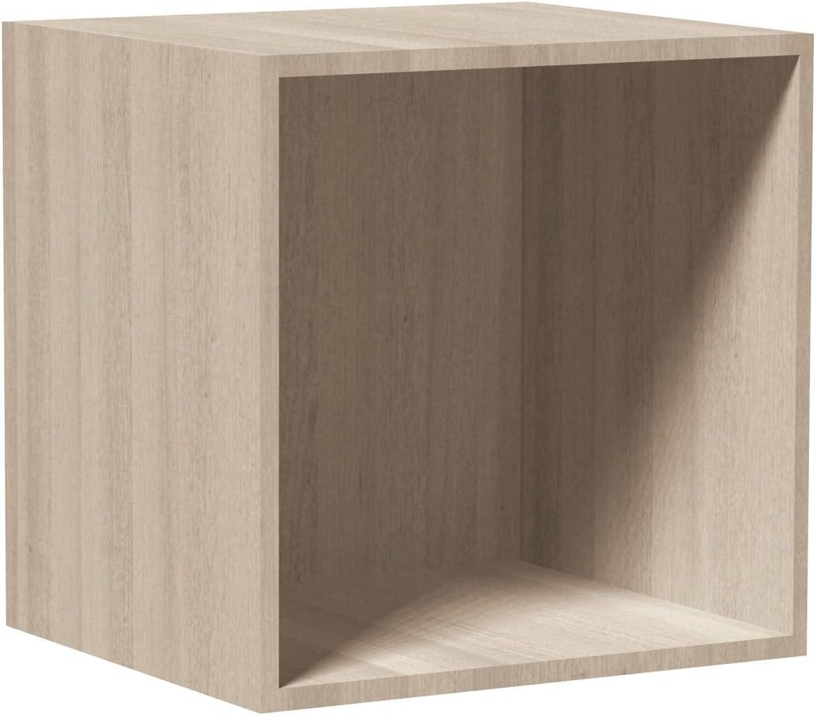 /Bianco Urban living Cubo di impilabile/ /35,5/x 35,5/cm/