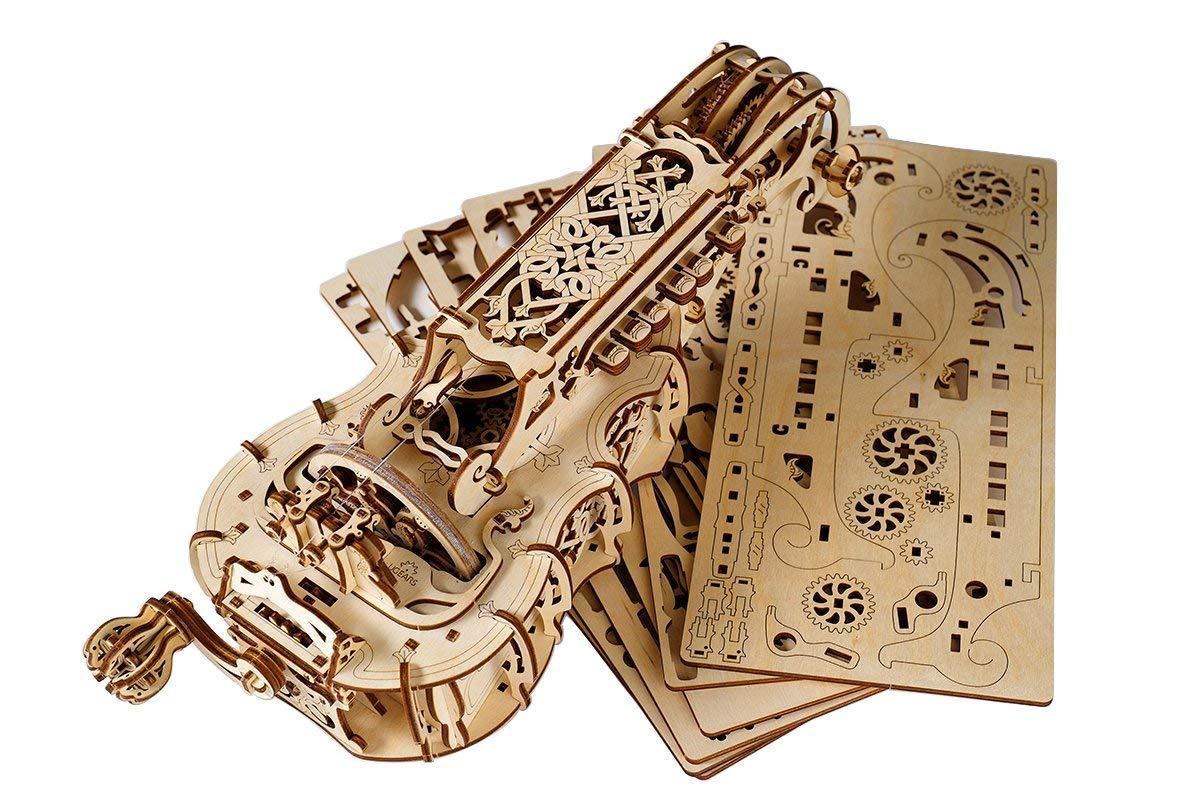 alta calidad QIU PING Puzzle 3D, Modelo Musical Musical Musical de Madera, Pasador de Cerebro, DIY Craft Set - Regalo de Navidad para adolescentes y adultos  alta calidad general