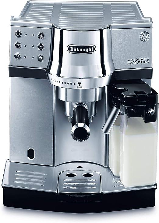 DeLonghi EC 850.M - Cafetera de filtro, 1450 W, 1 L, acero inoxidable, plata: Amazon.es: Hogar