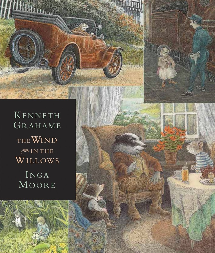 The Wind in the Willows: Candlewick Illustrated Classic (Candlewick Illustrated Classics)