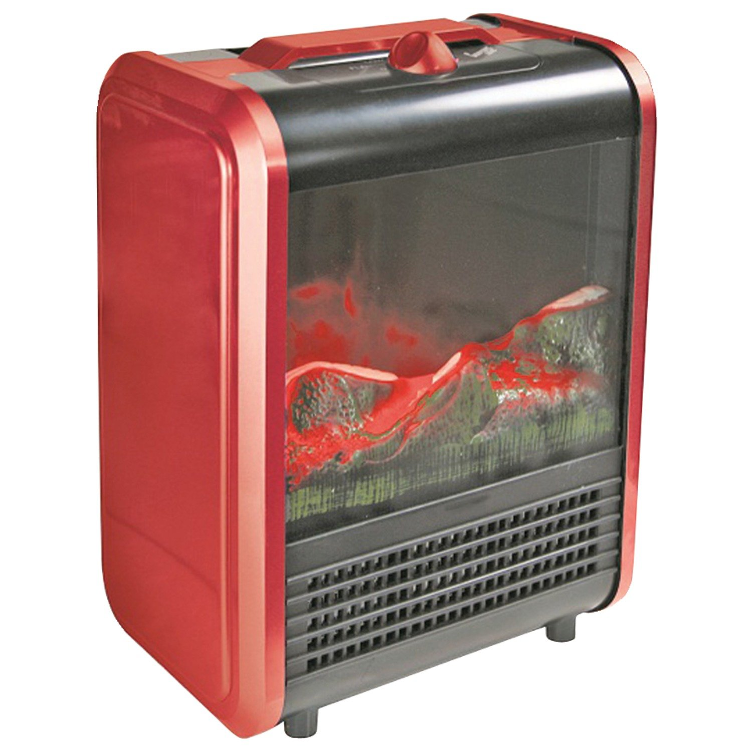 Amazon.com: Comfort Zone CZFP1 Metal Mini Electric Fireplace: Home ...