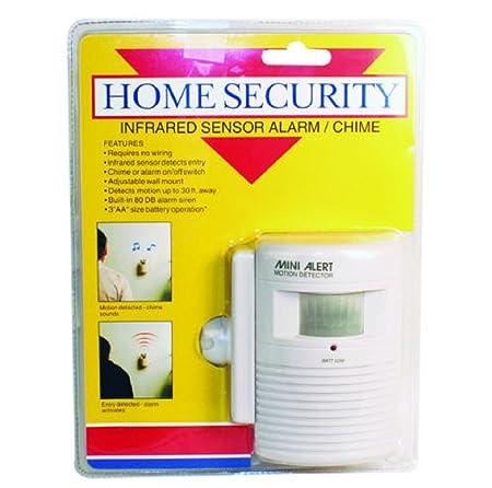 Home Security Mini Alert Motion Detector System Infrared Sensor Alarm Chime - - Amazon.com