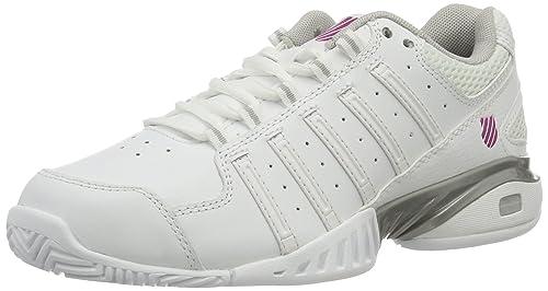 K-Swiss Receiver III, Zapatillas de Tenis para Mujer, Blanco ...