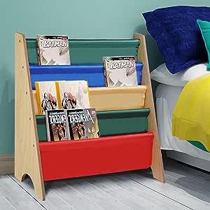 MegaBrand Estantería organizadora para Libros para niños