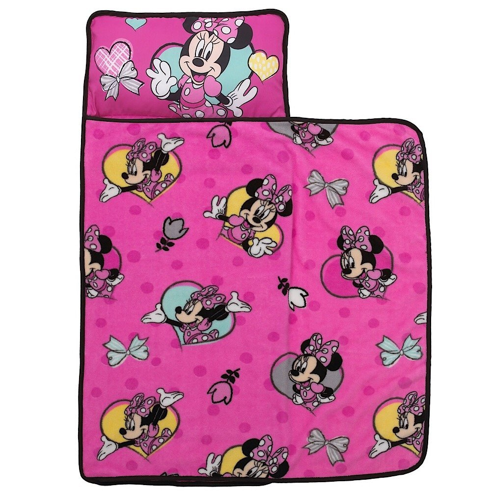 Disney Minnie Mouse Girls Nap Mat with Blanket