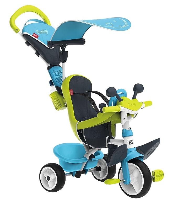 Smoby Baby Driver - Smoby Dreirad 4 in 1 Blau