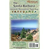 The Santa Barbara Outdoor Recreation Topo Map: Hiking, Mountain Biking, Rock Climbing, Wind Sports, Beaches & Surf Breaks, Tr