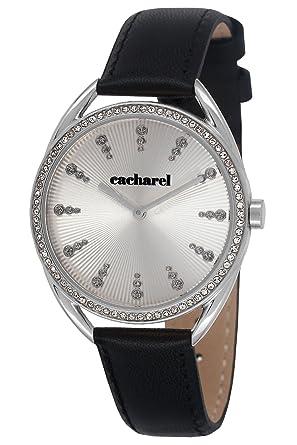 e8759c1c0e Cacharel - CLD 050S/FA - Montre Femme - Quartz Analogique - Cadran Argent -
