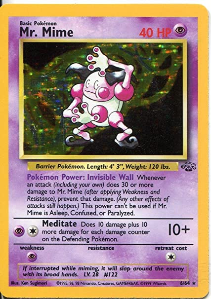 Nidoran 57//64 Jungle Pokemon Card LP Cond #