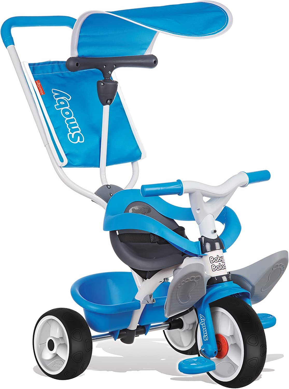 Smoby - Triciclo Baby balade, Color Azul (444208): Amazon.es ...
