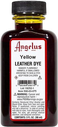 Angelus Leather Dye Yellow: Amazon.es: Zapatos y complementos