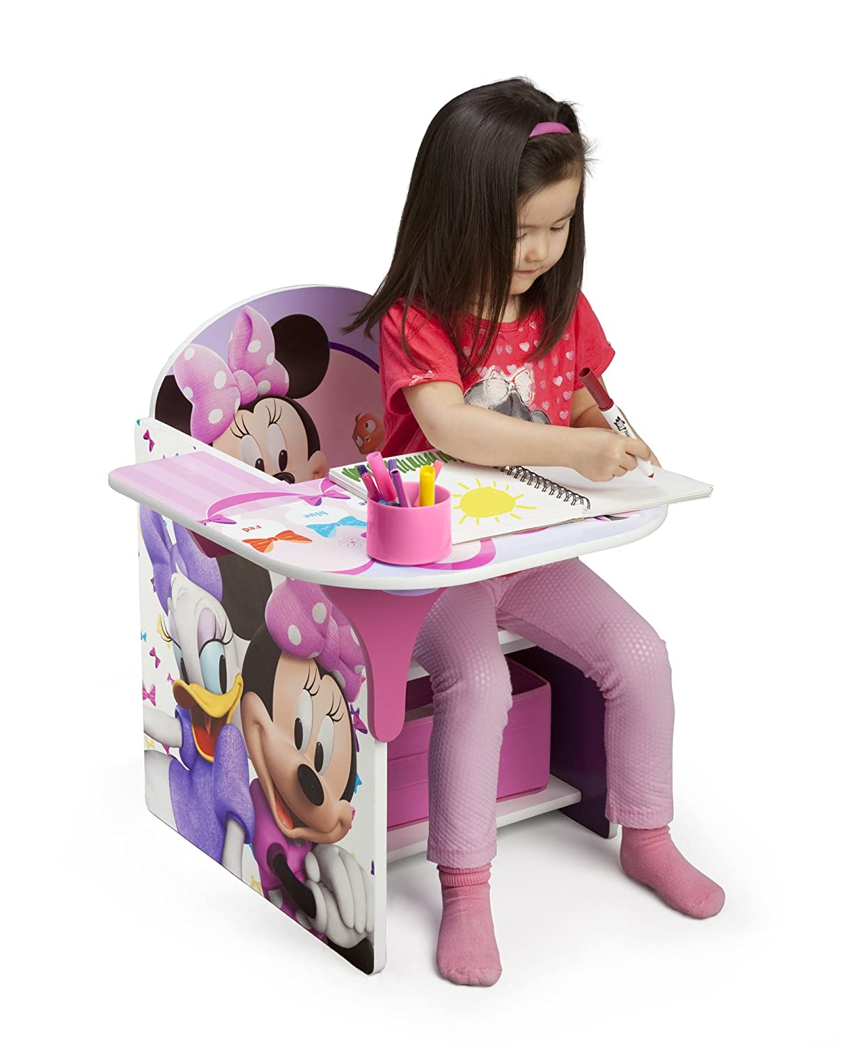 Delicieux Amazon.com: Delta Children Chair Desk With Storage Bin, Disney Minnie  Mouse: Baby