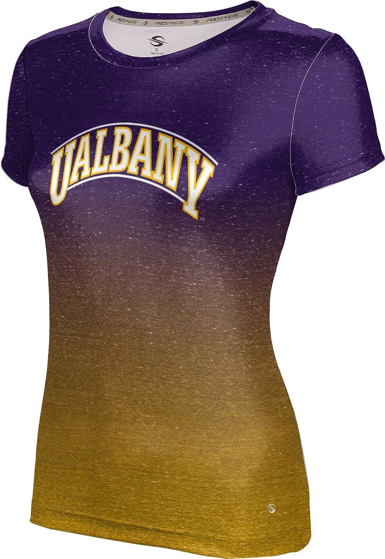 ProSphere University at Albany Girls Zipper Hoodie Gradient School Spirit Sweatshirt