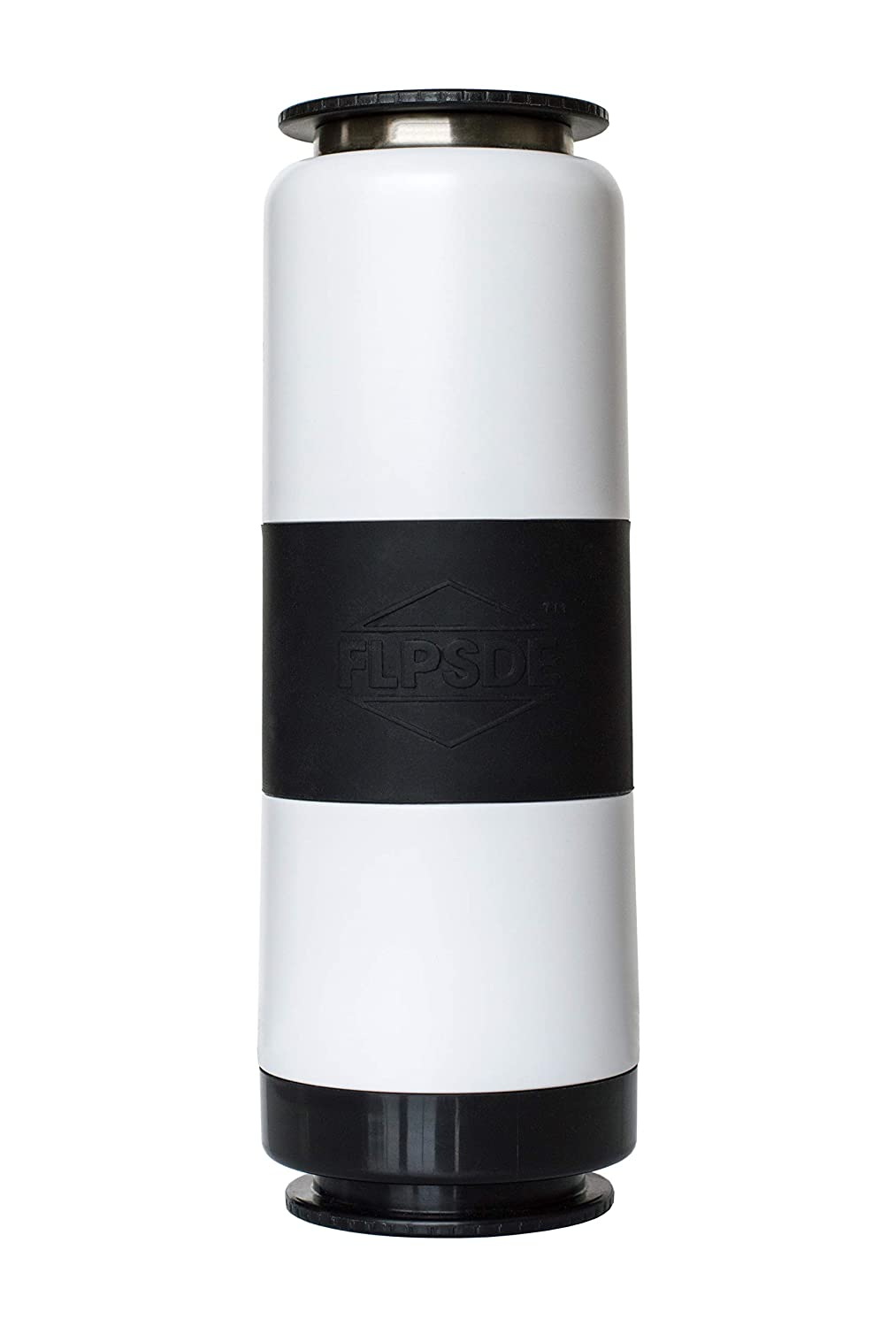 Vacuum Insulated Stainless Steel Drink+Snack FLPSDE Dual Chamber Water Bottle