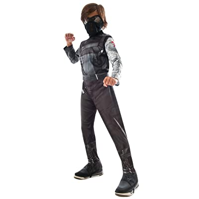 Rubie's Costume Captain America: Civil War Winter Soldier Child Costume, Small: Toys & Games