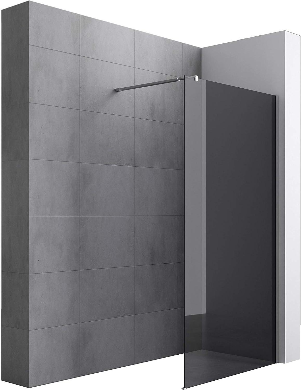Sogood Lujosa Mampara / Panel de ducha de vidrio transparente ...