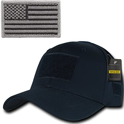Image Unavailable. Image not available for. Color  Ultimate Arms Gear  Tactical Military Navy Blue Cap + Foliage USA American Flag Patch 5e5fe0f455f