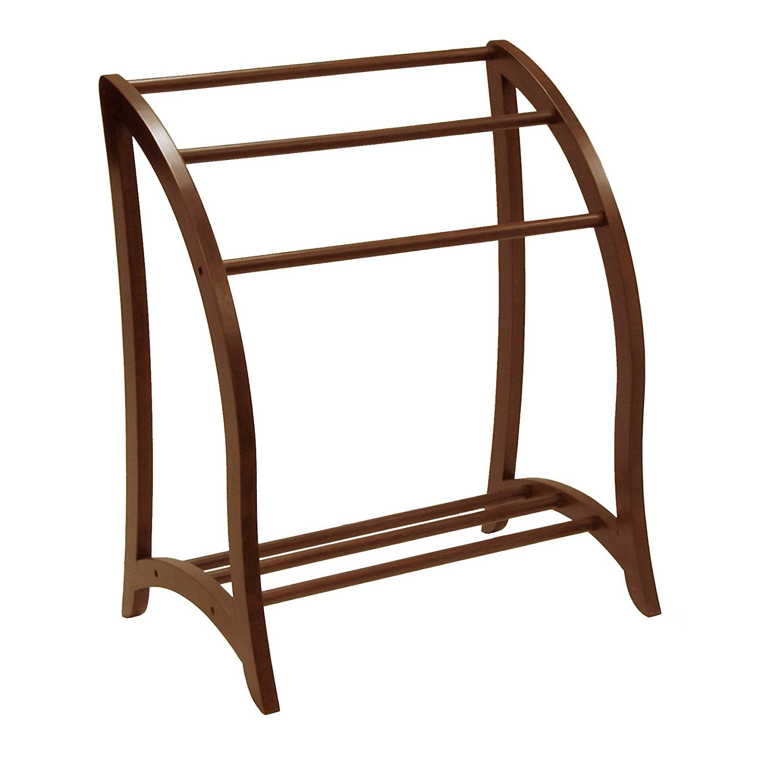 Winsome Wood Blanket Rack, Antique Walnut (Pack of 2) by Winsome Wood (Image #2)