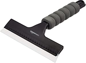 AmazonBasics Window Squeegee with Handle for Glass, Mirror, Car Window