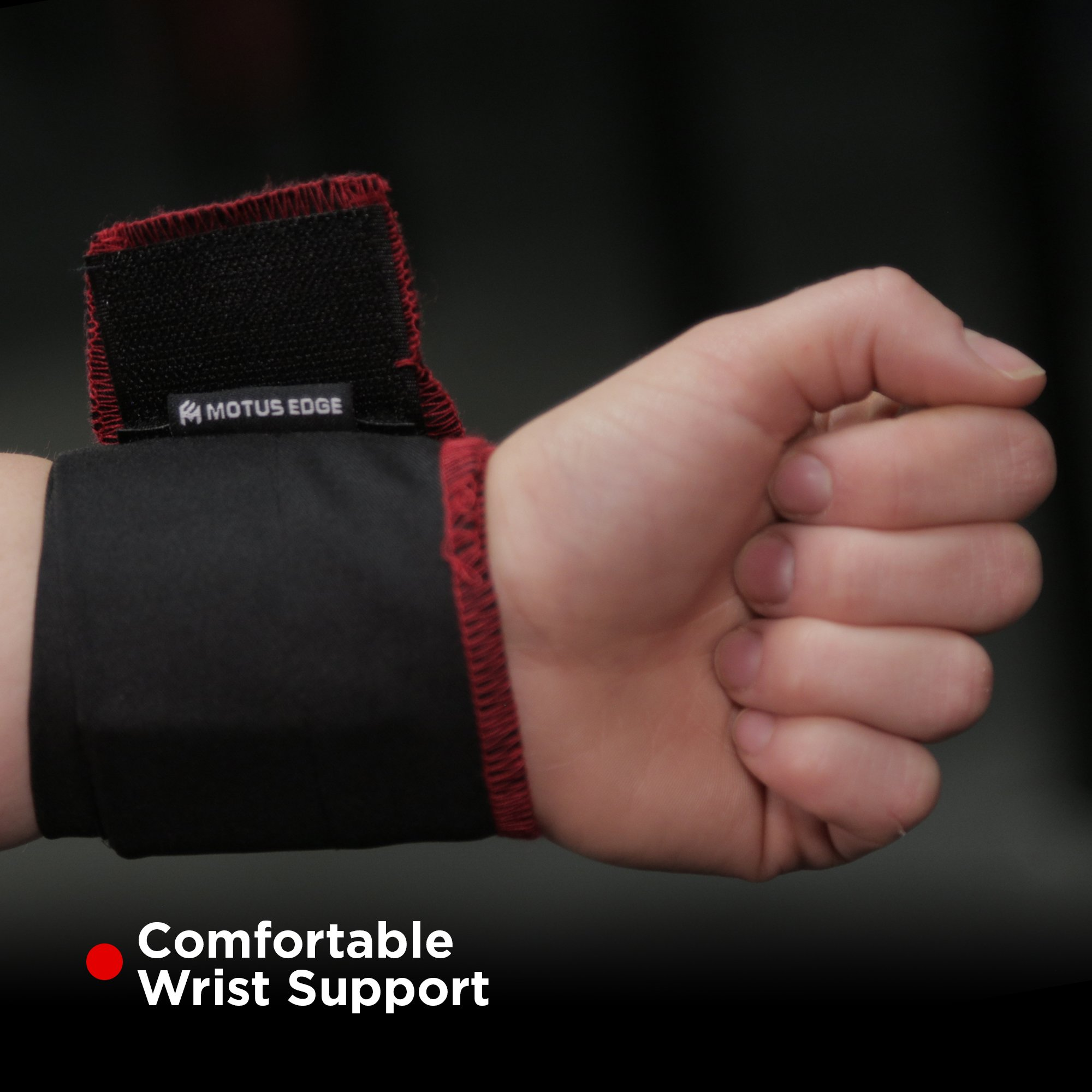 Motus Edge CrossFit Starter Kit - Palm Grips, Wrist Wraps, Speed Jump Rope - Handy Carry Bag by Motus Edge (Image #4)