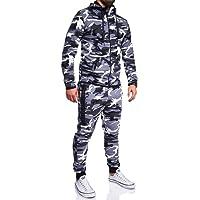 MT Styles ensemble pantalon de sport + sweat-Shirt jogging survêtement R-7039