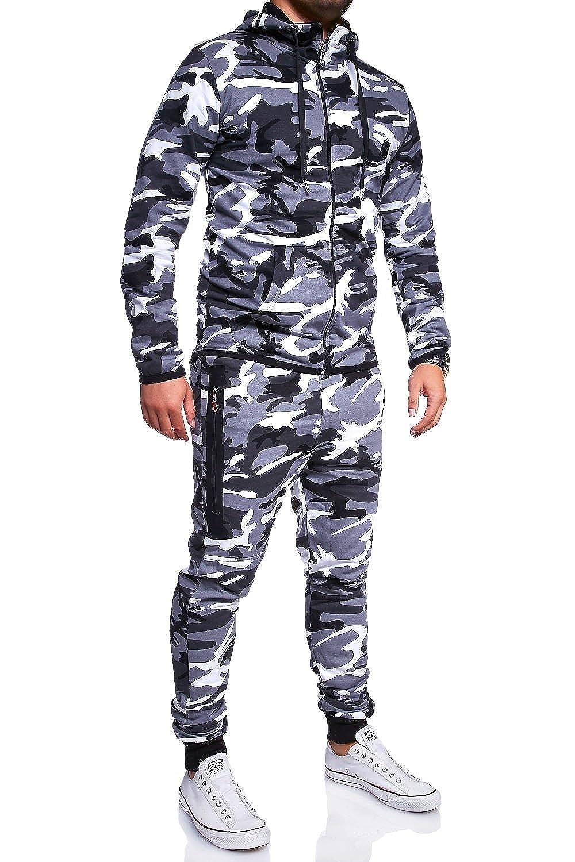 MT Styles ensemble pantalon de sport + sweat-Shirt jogging survêtement R-7039 MYTRENDS Styles