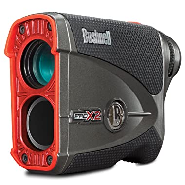 Bushnell Pro X2 Laser Golf Rangefinder with Slope-Switch Technology 201740