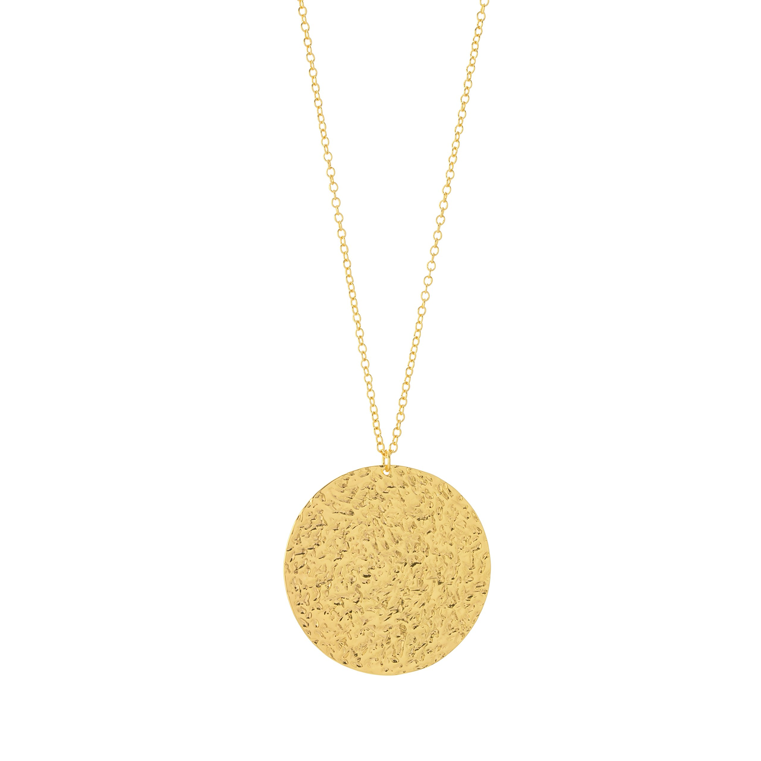 Gorjana Faye Gold Pendant Necklace